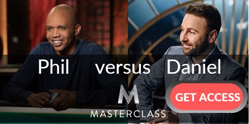 Phil Ivey vs  Daniel Negreanu MasterClass Comparison